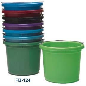 Fortiflex Flat Back Water Bucket 6 Gallon