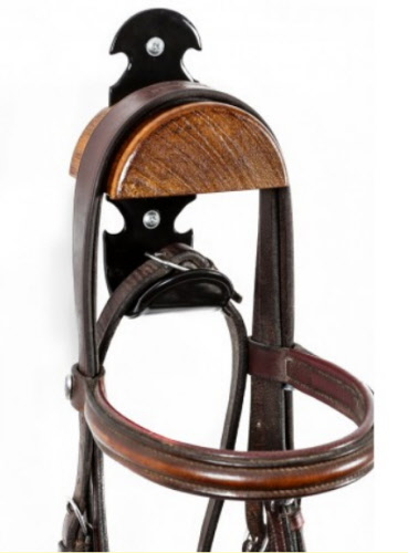 black bridle metal in red and black, bridle Bridle holder for horses with additional hooks bridle bridle riding stables for hanging bridles bridle bridle saddle chamber